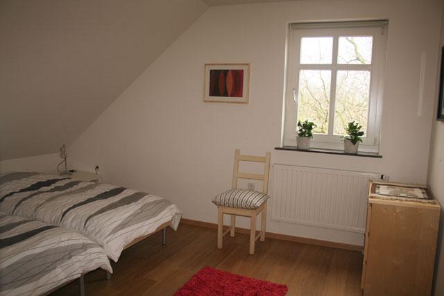 De slaapkamer van de vakantie appartementen in limburg