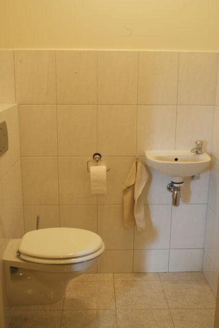 Het sanitair van de vakantie appartementen in limburg