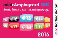 Deelnemer Minicamping Card